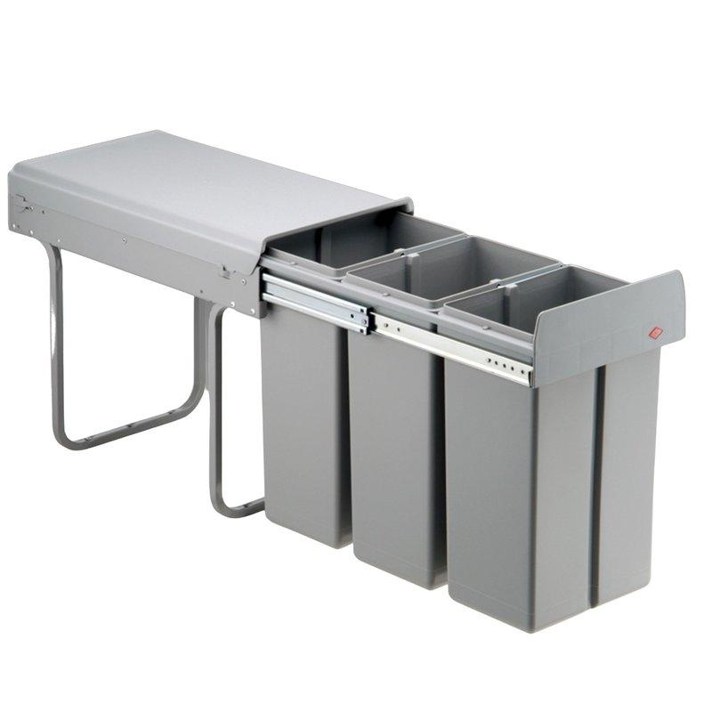 Wesco Küchen Abfalleimer Bio Mülleimer 30 L Müllsammler ab 30 cm Schrank *515653