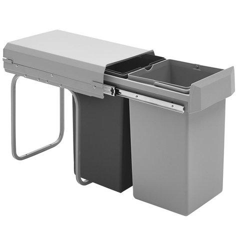 Einbau Abfallsammler Mülleimer Abfalleimer Küchen 2x15 oder 1x15 2x7,5 ltr.