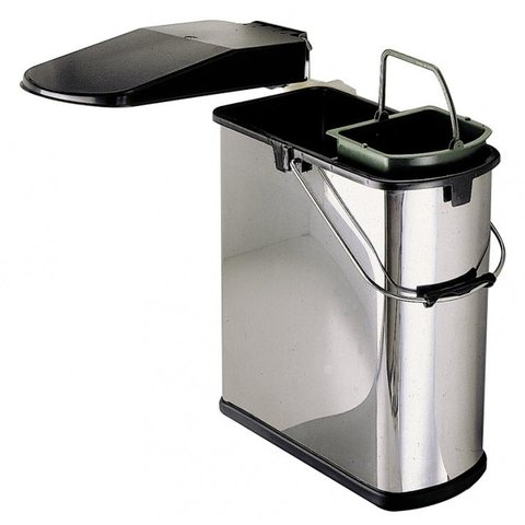 Abfalleimer Küche | Wesco Abfalleimer 14 5 Liter