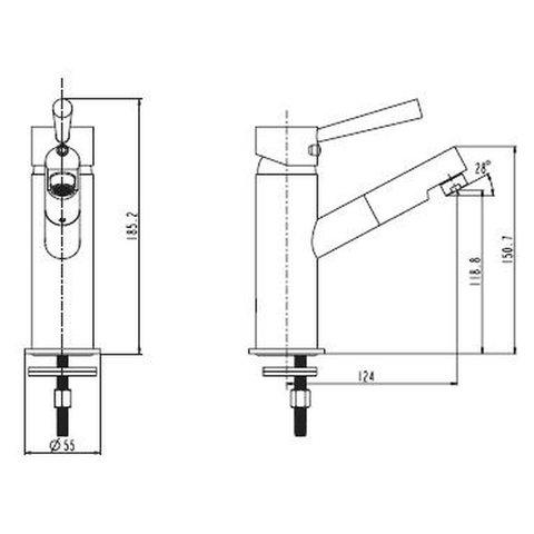 Niederdruck wasserhahn for Niederdruck küchenarmatur