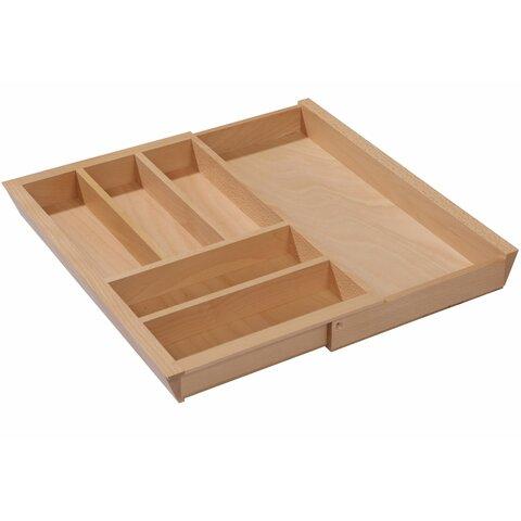 besteckeinsatz holz schublade 40 60 cm ausziehbar. Black Bedroom Furniture Sets. Home Design Ideas